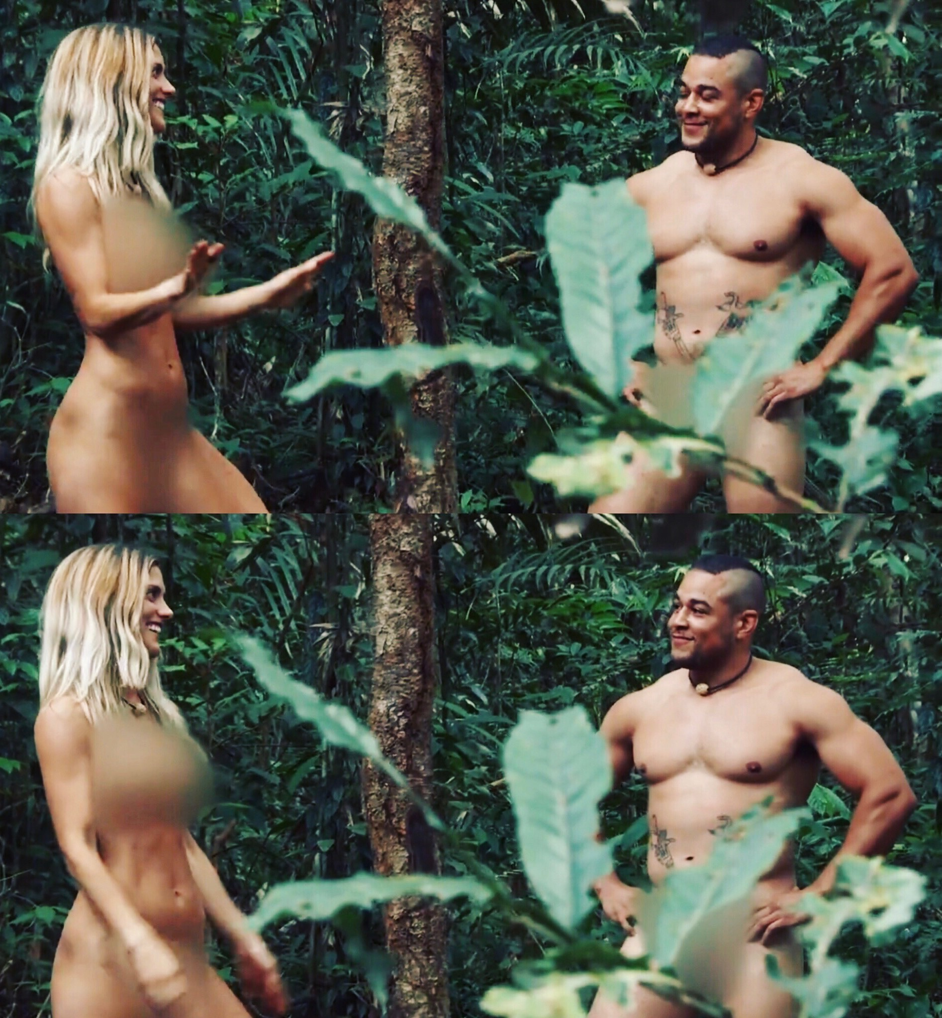 Discovery naked and afraid uncensored pics